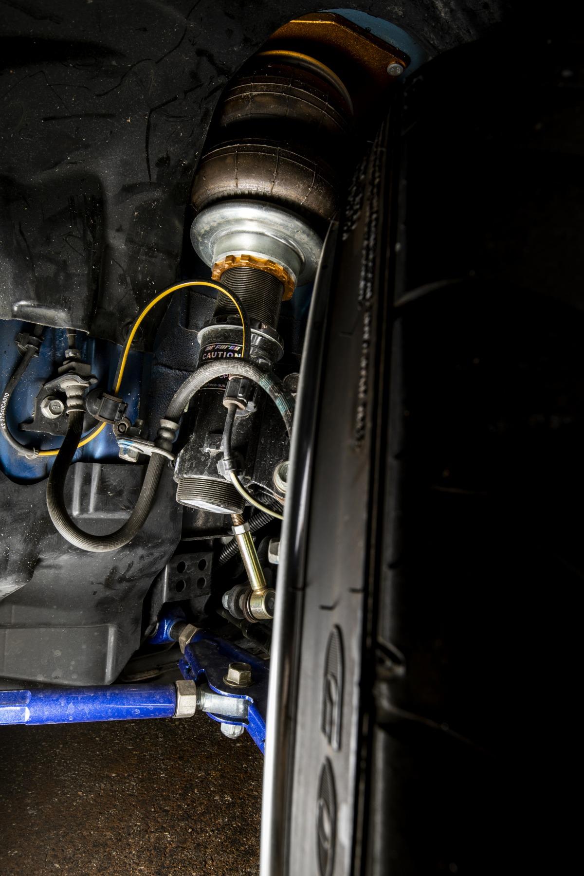 SUBARU BRZ airsuspension bagged airforcesuspension エアサス Hardline パイピング カスタム