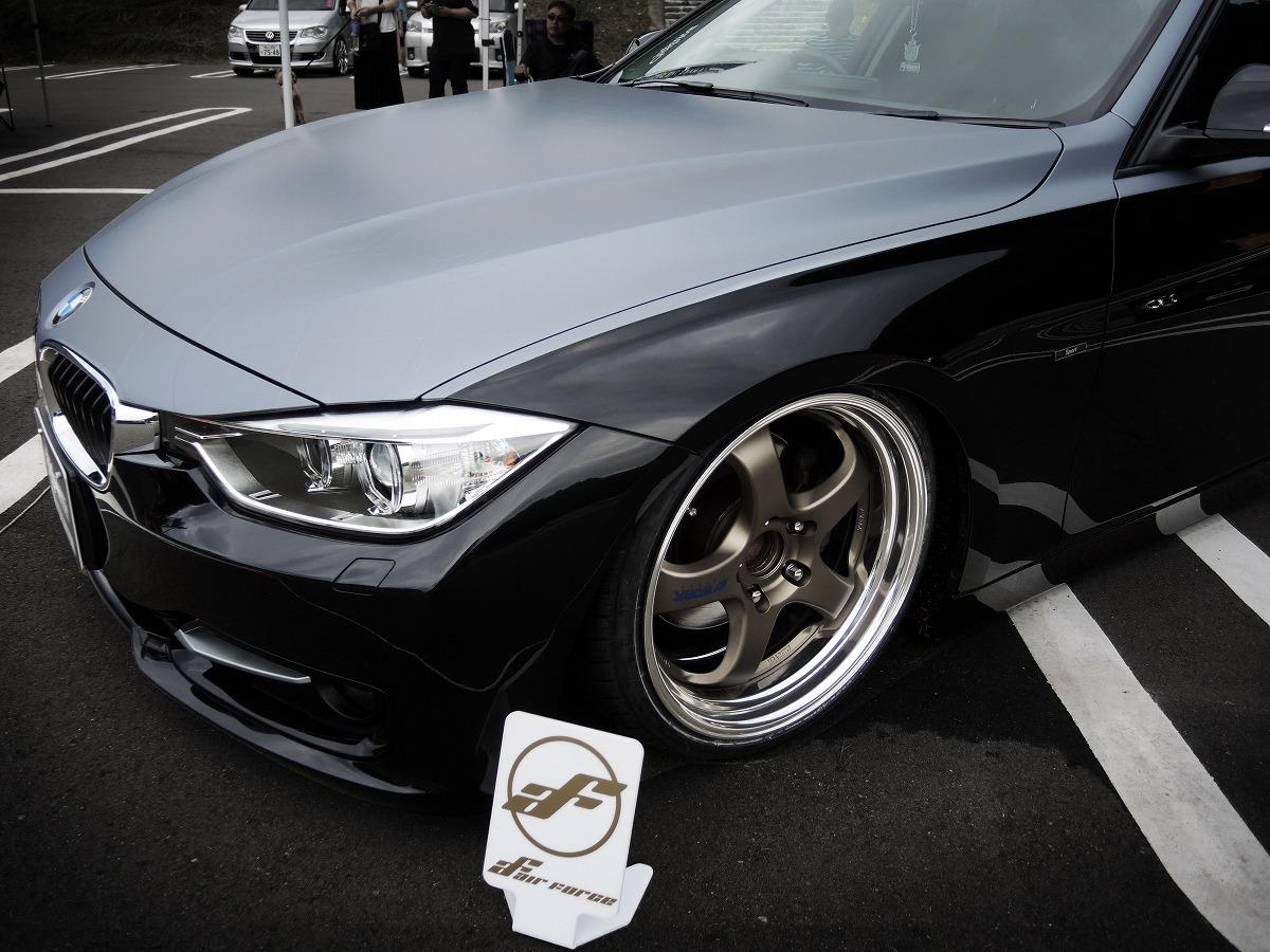 BMW ツートン カーラッピング エアサス カスタム