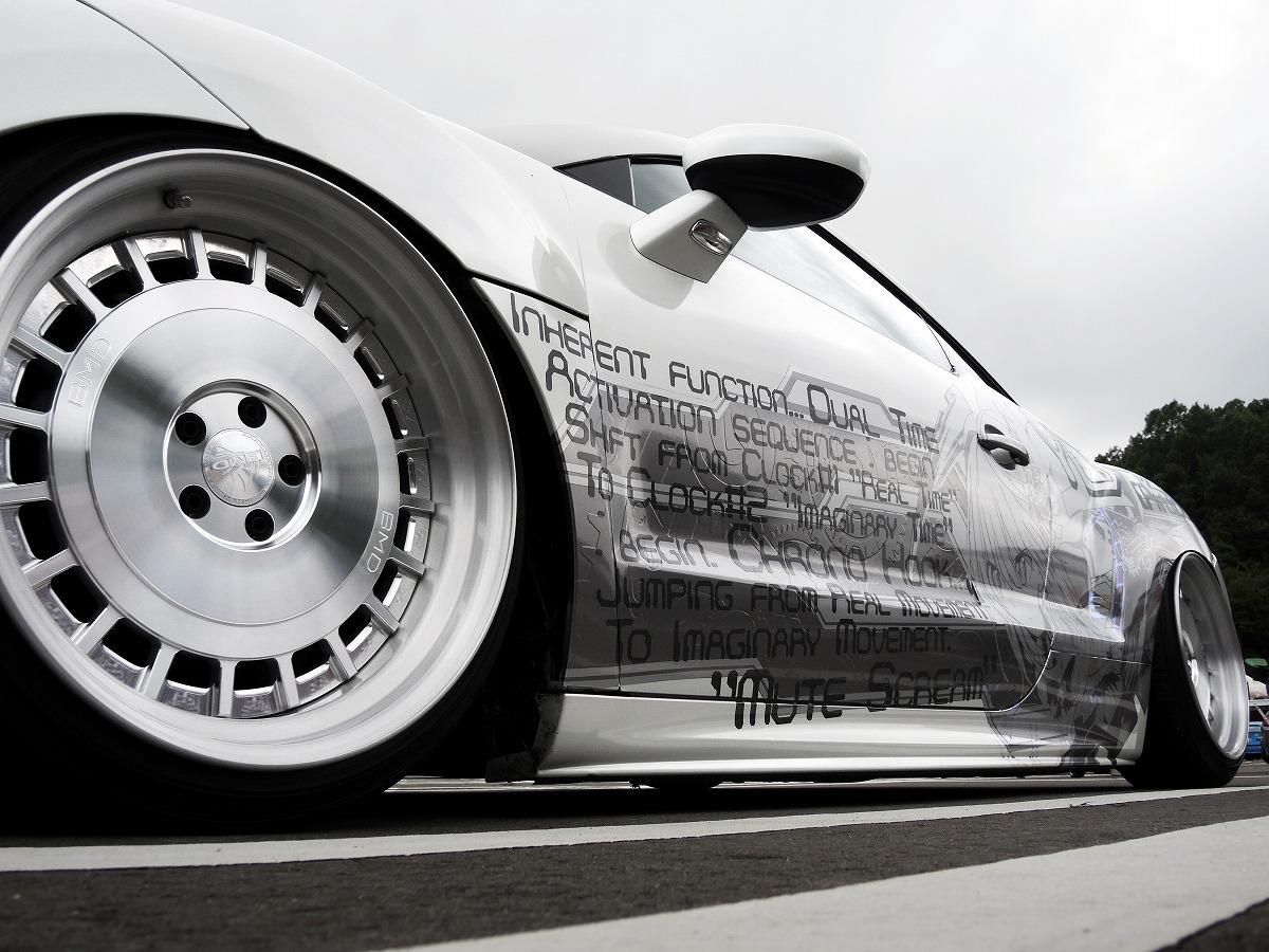 Peugeot プジョー 自作ラッピング 痛車 エアサス カスタム