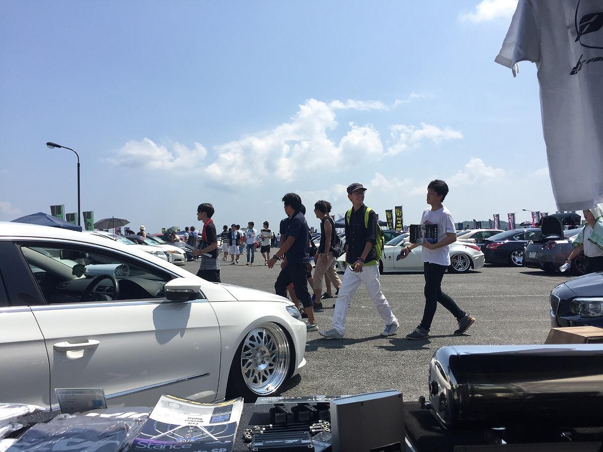 スタンスネイションSTANCENATION JAPAN 2017 長崎ブース出展エアフォース