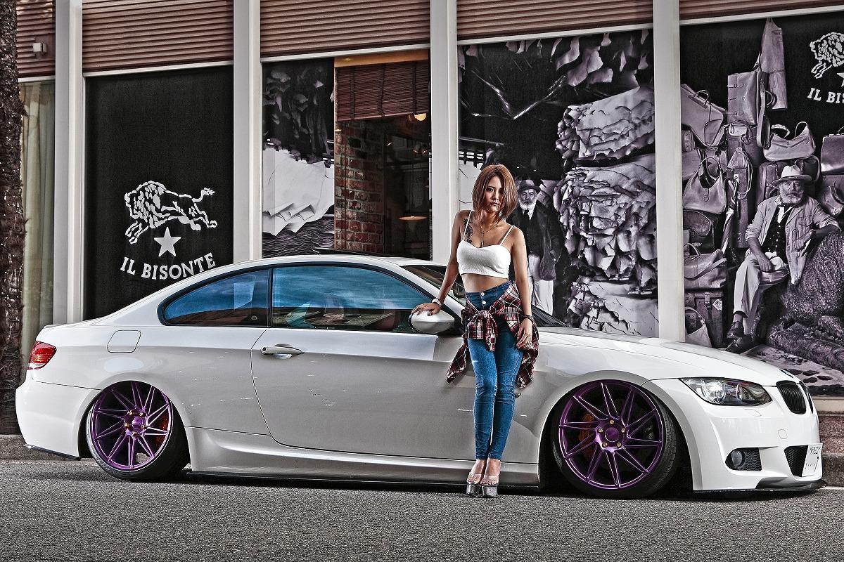 Stance スタンスマガジン掲載 BMW ガールズオーナー エアサス