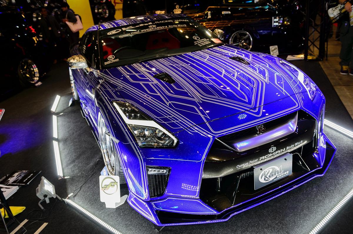 東京オートサロンデモカー GTR クール ローハン