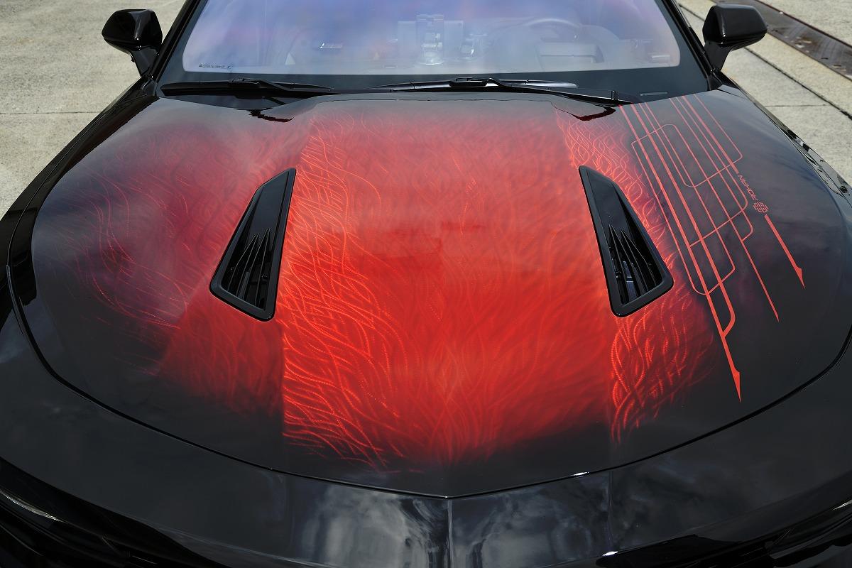 カスタムカー掲載 Air Force Suspensionエアサス搭載 シボレーカマロ Chevrolet Camaro