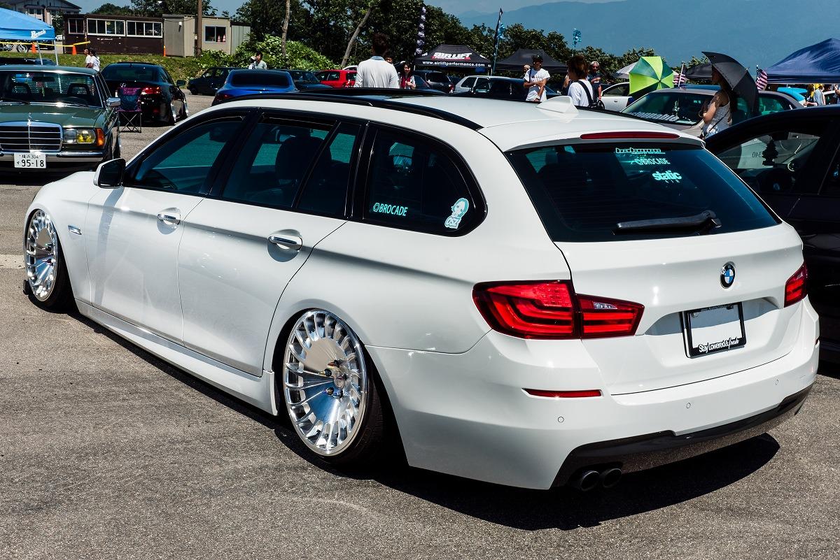 BMW523 レッキンミートエントリー車 エアサス カスタムカー