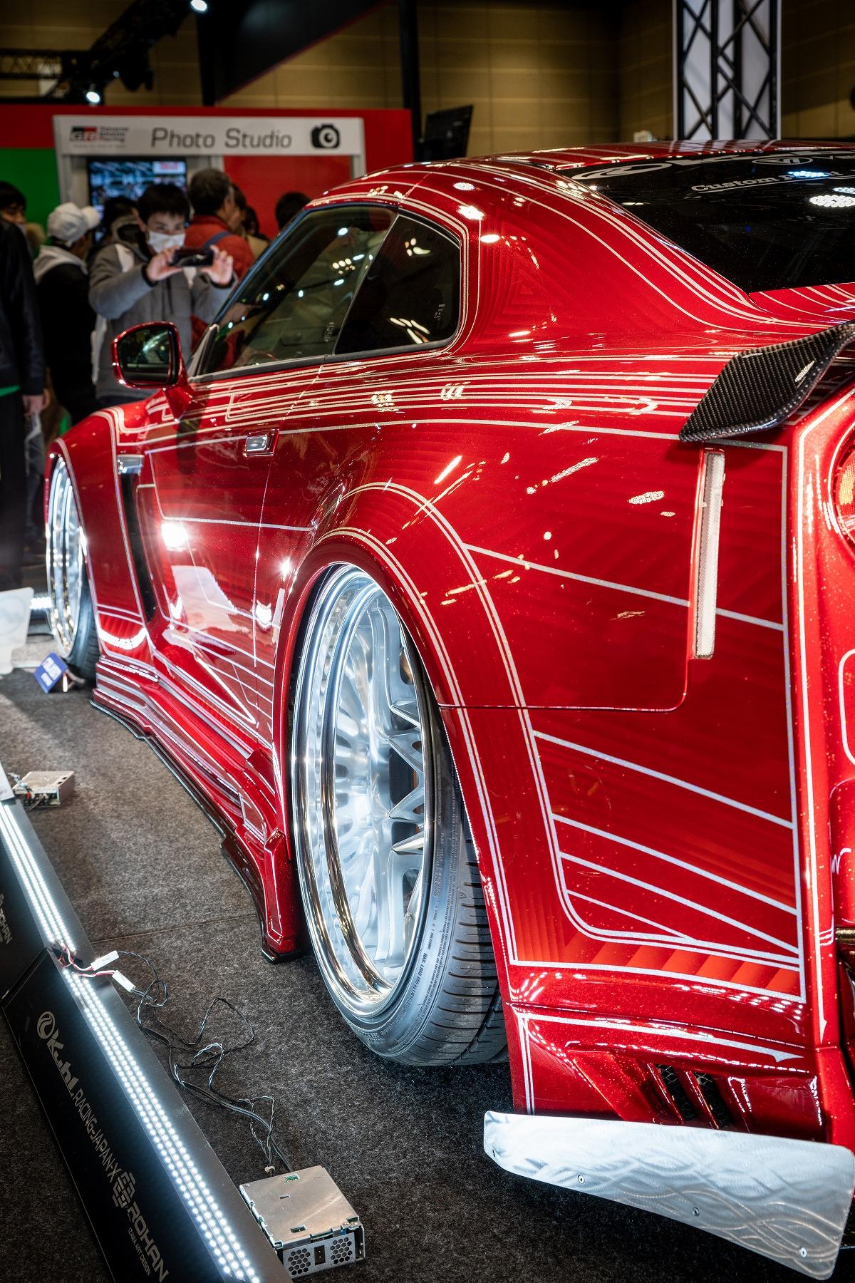 次世代エアサス エアフォース装着車 KUHL RACING  GT-R