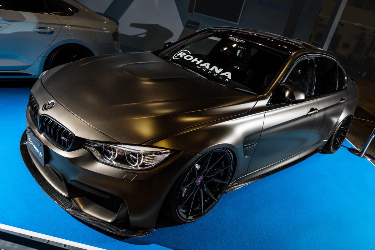 東京オートサロン エアサス エアフォースサスペンション BMW
