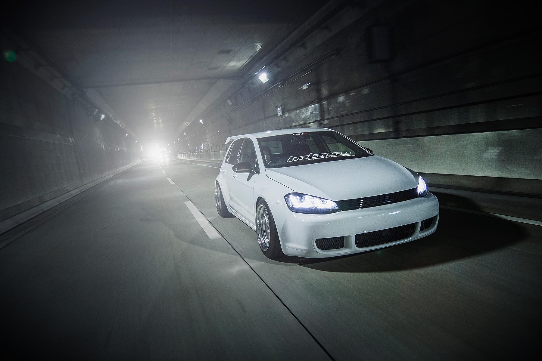 VW ゴルフGOLF エアサス エアフォース スタンス掲載 バランス