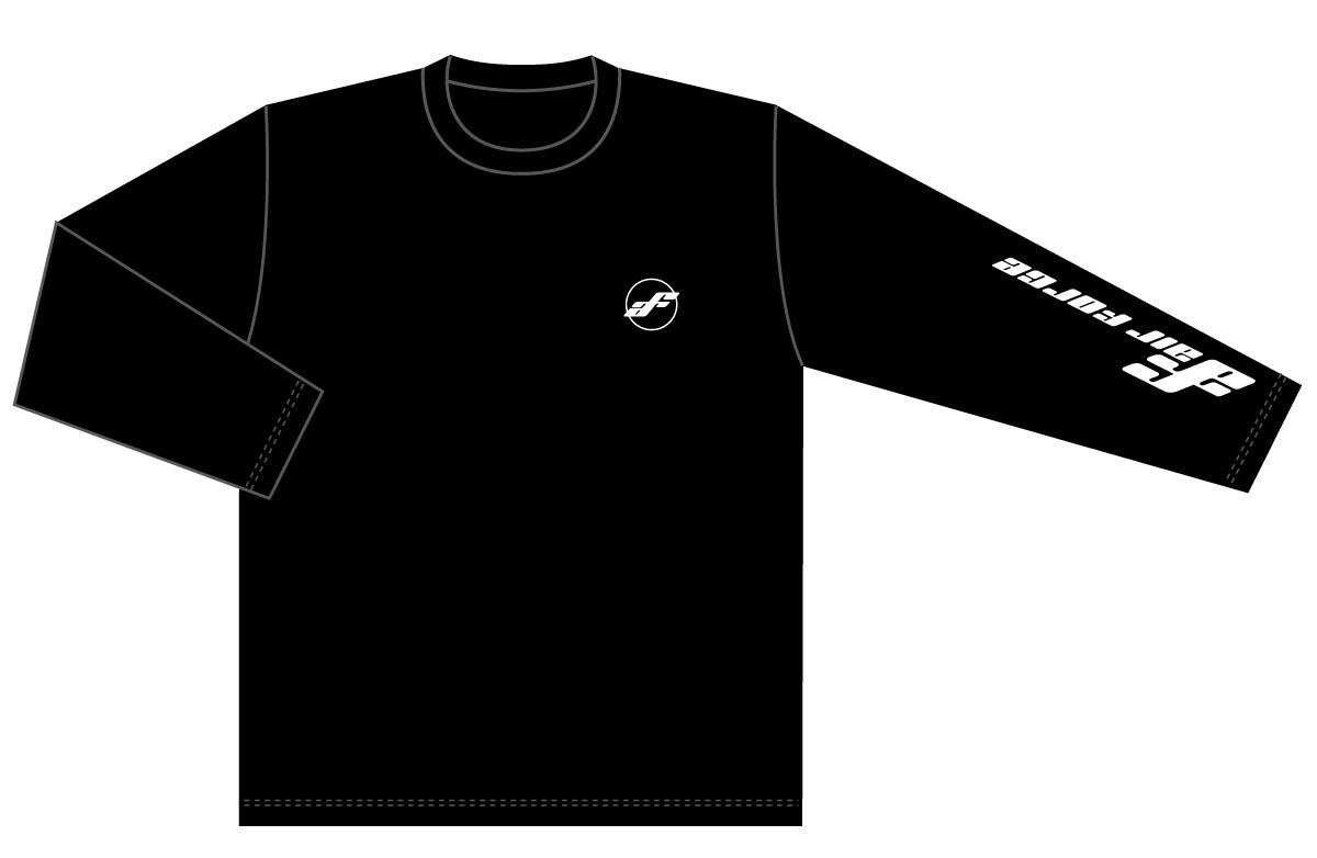 Air Force Suspension オリジナル長袖Tシャツ