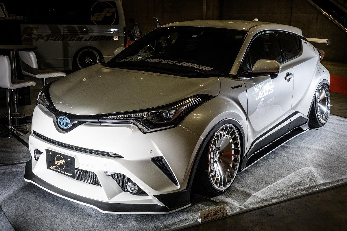 東京オートサロン2018 デモカー CHR エアサス