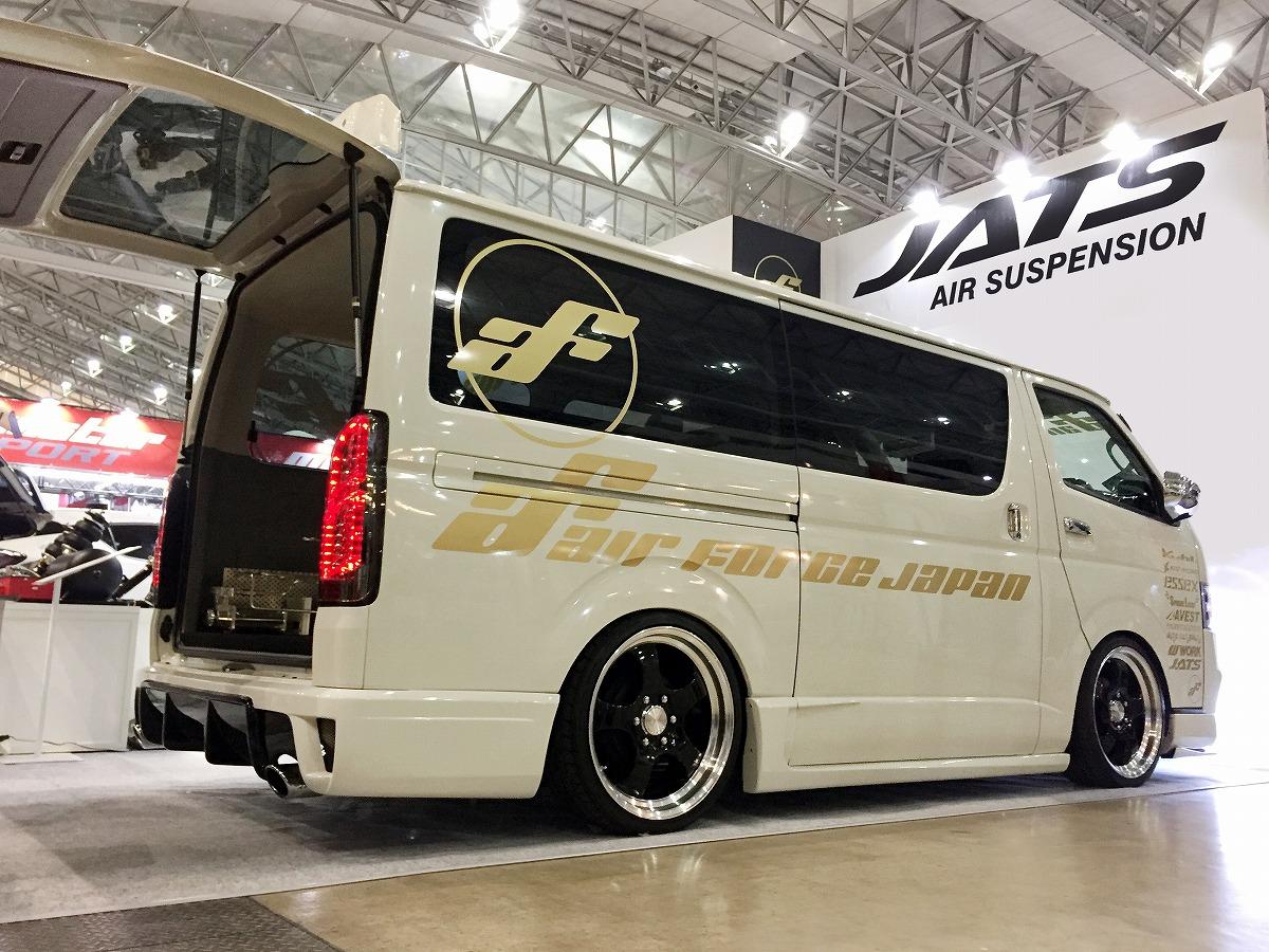 東京オートサロン2018 ハイエースデモカー