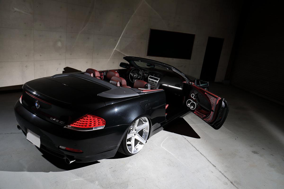カスタムカー掲載 次世代エアサス エアフォース装着 オーディオカスタム BMW64