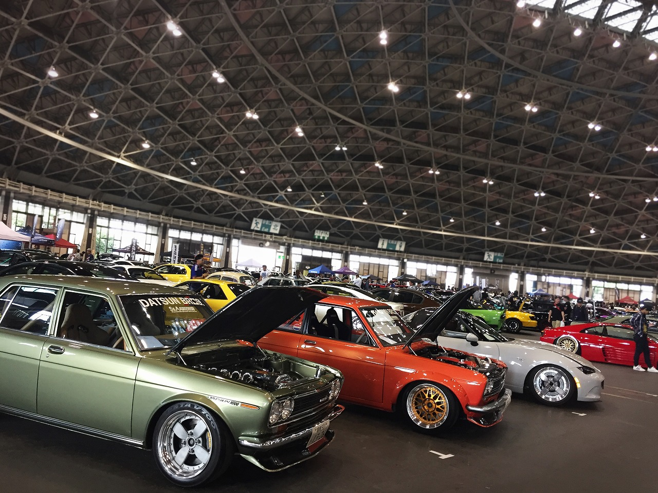 Wekfest usa 2017 japan 名古屋ポートメッセ Air Force Suspension エアサスブース